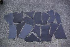 Leather Pieces Dark Brown 1KG