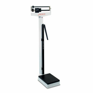 Detecto 439 450 lb Capacity Eye Level Beam Scale with Height Rod