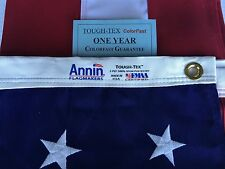 4x6 FT Annin US American Flag Tough Tex 2 Ply Poly Commercial Embroidered Stars
