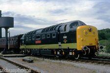 British Rail 55002 Koyli East Lancs Railway Rawtenstall Station '96 Rail Photo