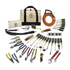 Klein Tools # 80141 41-Piece Journeyman Tool Set with Free T-Shirt NEW