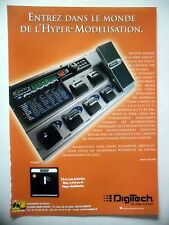 PUBLICITE-ADVERTISING :  DIGITECH Effet GNX2  05/2002