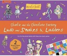 New Roahl Dahl Game Charlie & The Chocolate Factory Ludo Snakes & Ladders