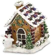 Bejeweled Lebkuchen Haus Schmuckkästchen