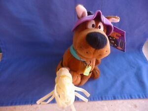"NEW!! Warner Brothers SCOOBY-DOO WITCH  9"" BEAN BAG PLUSH, NWT!!!!"