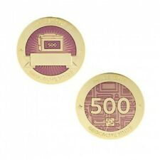Milestone Geocoin and Tag Set - 500 Finds Geocaching Official Trackable