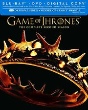 Game of Thrones: Second Season (Blu-ray/DVD, 7-Disc Set, Includes Digital Copy)