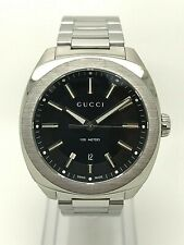 GUCCI Mens GG2570 Watch - Stainless Steel - Box & Papers - 12 Month Warranty