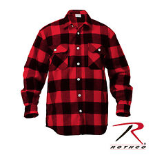 Rothco 4739 Extra Heavyweight Buffalo Plaid Flannel Shirts
