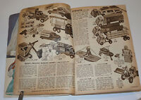 1955 ALDENS CHRISTMAS CATALOG! TOYS! BIKES! GAMES! ROY ROGERS! PEDAL CARS! MORE!
