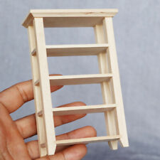 12th Doll House Wood Shelves Cupboard Cabinet Furniture Life Scene Accessory