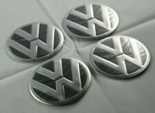 VW WHEEL CENTRE BADGES 90MM FIT MODELS INC POLO BEETLE GOLF POLO UP T4 T5