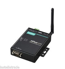 NPort W2150A, 1-port RS-232/422/485 wireless device server to 802.11a/b/g WLAN