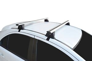 Alloy Roof Rack Cross Bar & Fitting Kit for Mitsubishi Lancer CJ CF 07-18 120cm