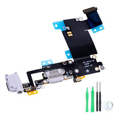 "iPhone 6s Plus 5.5"" Charging Unit Dock Port & Headphone Jack Flex Cable GREY"