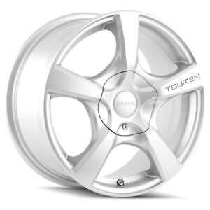 "Touren TR9 16x7 5x112/5x120 +42mm Silver Wheel Rim 16"" Inch"