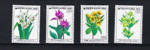 Korea 1995   Flower Flowers  Series  Stamp