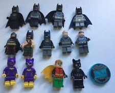 LEGO Minifigures Batman Bulk Lot GENUINE LEGO Batgirl Robin Batman