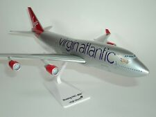 Virgin Atlantic Branson Boeing 747 Jumbo Jet Quality Plane Model Airline - New