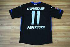 PADERBORN HOME FOOTBALL SHIRT 2014-2015 MORITZ STOPPELKAMP MATCH WORN ? TRIKOT