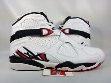 NEW Nike Air Jordan VIII 8 Retro ALTERNATE WHITE GYM RED BUNNY 305381-104 sz 16