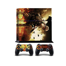 Parachutiste en guerre PS4 PlayStation 4 vinyle wrap/PlayStation 4 PS4 peau stic...