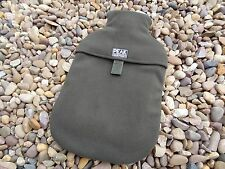 Peak angling products carp fishing small hot water bottle cover olive green