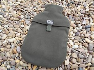 Peak angling products carp fishing GREEN fleeceCOVER for small hot water bottle