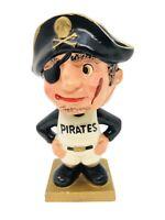 Pittsburgh Pirates Vintage Bobble PIRATES VINTAGE SQUARE GOLD BASE & SOX NODDER