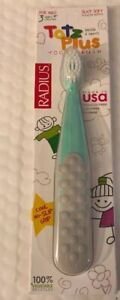 Radius Totz Plus ToothBrush Silky Soft Blue And White