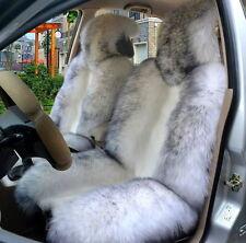 Genuine Australian Sheepskin Fur Car 1 Front Seat Cover Winter Universal M12H