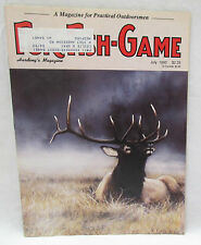 Fur Fish Game Magazine July 1992 High Country Hunt For Early Fall Elk