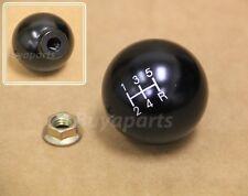 JDM Black aluminum 2' ball style 5 speed Shift KNOB M10x1.5 for Acura & Honda