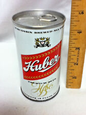 "Huber premium metal beer can WI brewed all grain est. 1848 12 oz. 4.75"" BB7"