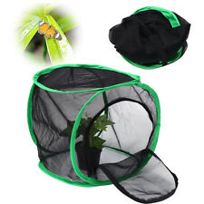 12'' Foldable Praying Mantis Stick Net Insect Butterfly Chameleon Pop Up Cage