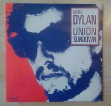"""BOB DYLAN -7"""" Single -Union Sundown/Angels Flying Too Close To The Ground,Mint!"""