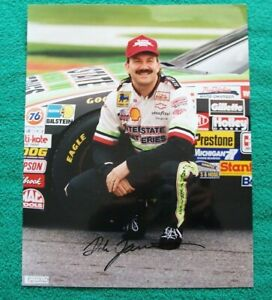 DALE JARRETT autographed color 8x10 glossy
