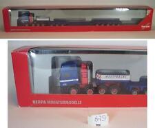 Herpa 1/87 Man e 2000 West trasporto ORO Hofer profondamente di carico autoarticolati OVP #679