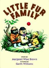 Little Fur Family Brown, Margaret Wise Hardcover Book New