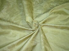 "~BTY~FABRICUT~100% SILK ""HIBISCUS SILK DAMASK""~UPHOLSTERY FABRIC FOR LESS~"