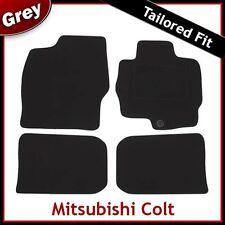 MITSUBISHI COLT 2004 2005 2006 2007 2008...2012 Tailored Carpet Car Mats GREY