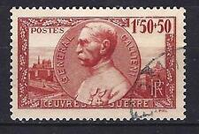 France 1940 Joseph-Simon Galliéni Yvert n° 456 oblitéré 1er choix (3)