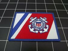 "UNITED STATES COAST GUARD FLAG IRON-ON PATCH BRAND NEW (2-1/2"" X 3-1/2"")"