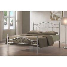 White Metal 4ft6 Double Bed Frames Amp Divan Bases Ebay