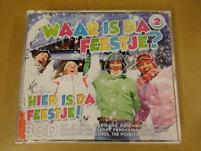 3-CD BOX / WAAR IS DA FEESTJE? HIER IS DA FEESTJE! VOL.2