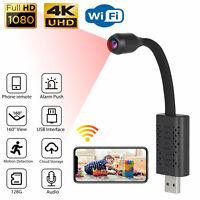 Mini 1080P HD USB IP Camera Wireless WiFi 4K Security Camcorder Night Vision DVR