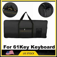61Key Keyboard Electric Piano Padded Case Gig Bag Advanced Fabric For Yamaha US