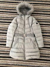 Geox Girls Silver Coat Age 10