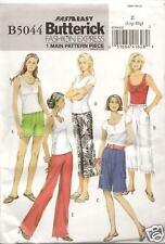 B5044 LADYS SHORTS/PANTS SIZE 16-22 BUTTERICK SEWING PATTERN 5044