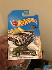 Hot wheels 2017 '71 Datsun Bluebird 510 Wagon ZAMAC Walmart Rare HTF